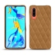 Huawei P30 leather cover - Castan esparciate - Couture