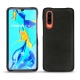 Huawei P30 leather cover - Negre poudro