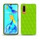 가죽 커버 Huawei P30 - Vert fluo - Couture