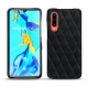Huawei P30 leather cover - Dark vintage - Couture