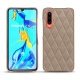 Huawei P30 leather cover - Taupe vintage - Couture