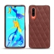 Huawei P30 leather cover - Passion vintage - Couture