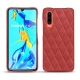 Huawei P30 leather cover - Cerise vintage - Couture