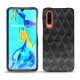 Huawei P30 leather cover - Onyx - Couture