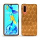 Huawei P30 leather cover - Or Maïa - Couture