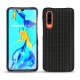 Huawei P30 leather cover - Abaca nero