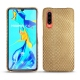 Huawei P30 leather cover - Serpent sabbia