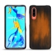 Huawei P30 leather cover - Marron Patine