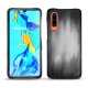 Huawei P30 leather cover - Gris Patine
