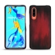 Huawei P30 leather cover - Rouge Patine