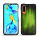 Huawei P30 leather cover - Vert Patine