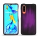 Huawei P30 leather cover - Violet Patine