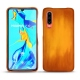 Huawei P30 leather cover - Orange Patine