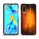 Huawei P30 leather cover - Fauve Patine