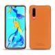 가죽 커버 Huawei P30 - Orange PU