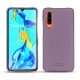 Huawei P30 leather cover - Lilas PU