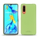Huawei P30 leather cover - Vert olive PU