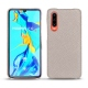 Huawei P30 leather cover - Taupe innocent