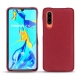 Huawei P30 leather cover - Rouge passion