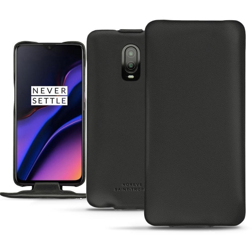 OnePlus 6T leather case - Noir PU