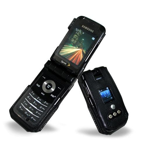Samsung SPH-A900  leather case