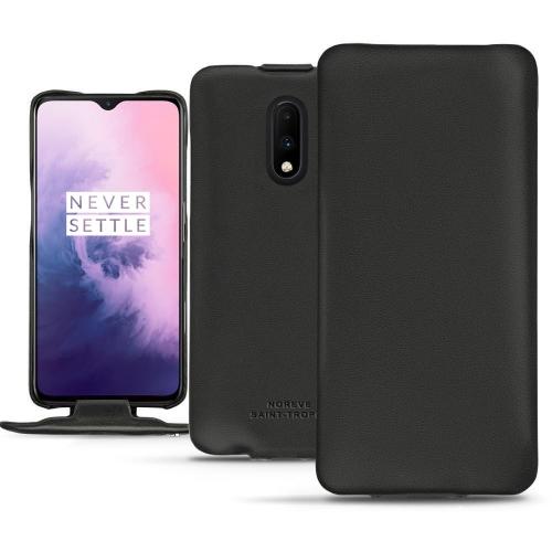 レザーケース OnePlus 7 - Noir PU