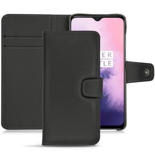 OnePlus 7 leather case - Noir PU