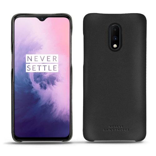 OnePlus 7 leather cover - Noir PU