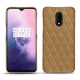 OnePlus 7 leather cover - Sable vintage - Couture