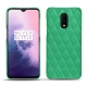 OnePlus 7 leather cover - Menthe vintage - Couture