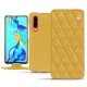 Huawei P30 leather case - Mimosa - Couture ( Pantone 141C )