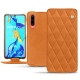 Huawei P30 leather case - Mandarine vintage - Couture