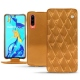 Huawei P30 leather case - Or Maïa - Couture