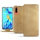 Huawei P30 leather case - Serpent sabbia