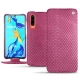 Huawei P30 leather case - Serpent ciclamino