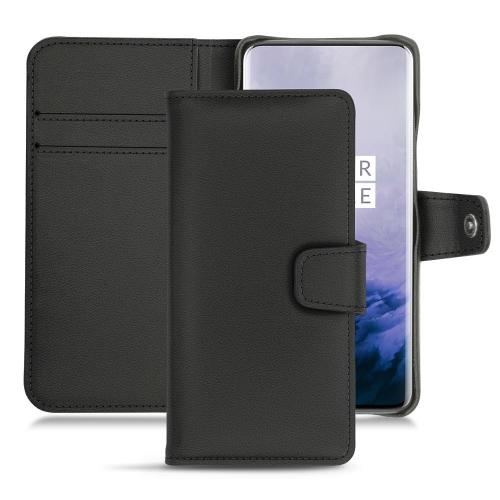 Housse cuir OnePlus 7 Pro - Noir PU
