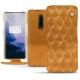 Funda de piel OnePlus 7 Pro - Or Maïa - Couture