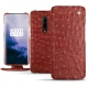 OnePlus 7 Pro leather case - Autruche ciliegia