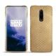 Lederschutzhülle OnePlus 7 Pro - Serpent sabbia