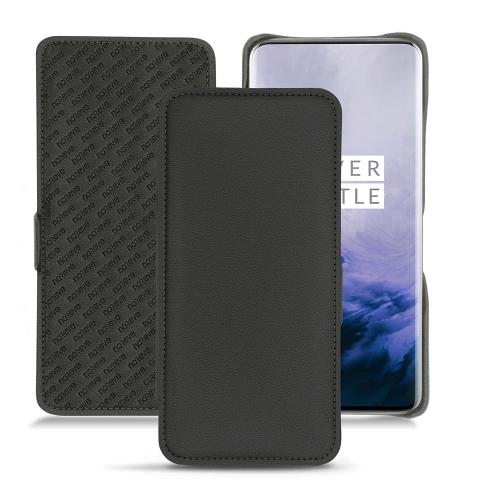 Capa em pele OnePlus 7 Pro - Noir PU