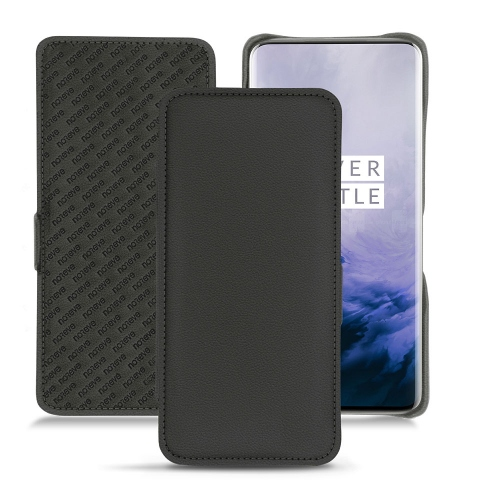 OnePlus 7 Pro leather case - Noir PU