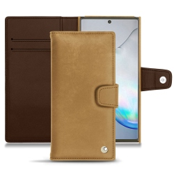 Funda de piel Samsung Galaxy Note10+