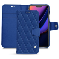 Apple iPhone 11 Pro leather case - Bleu ciel ( Nappa - Pantone 277C )