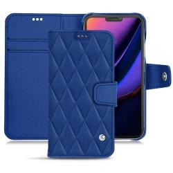 Housse cuir Apple iPhone 11 Pro - Bleu ciel ( Nappa - Pantone 277C )