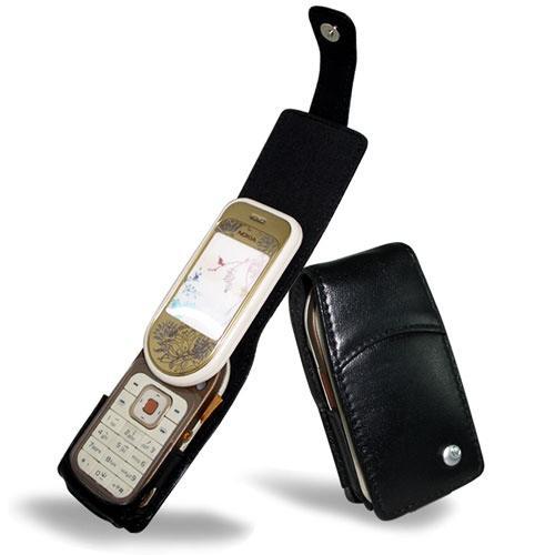 Nokia 7370  leather case