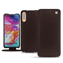 Samsung Galaxy A70 leather case