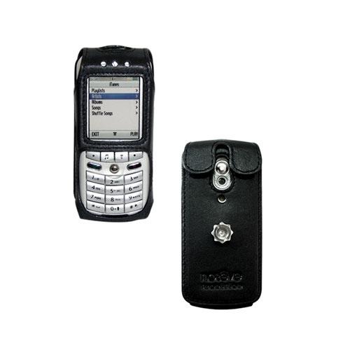 Etui cuir Motorola Apple Rokr E1