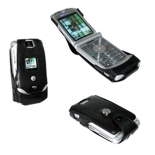 Etui cuir Motorola RAZR V3