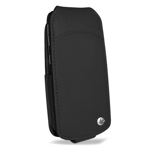 Motorola L7  leather case - Noir ( Nappa - Black )