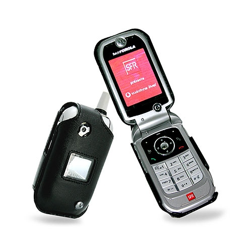 Etui cuir Motorola V1050